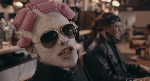 Voldemort coi bigodini nel video parodia di Uptown Funk