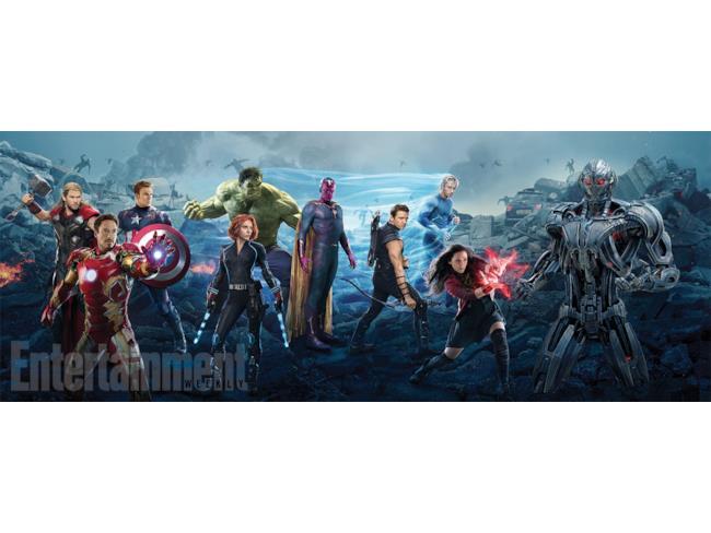 Avengers: Age of Ultron poster connessi dei Vendicatori