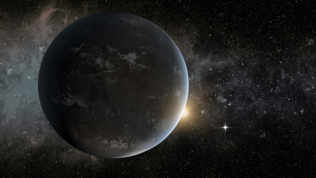Uno degli esopianeti fotografato da Kepler