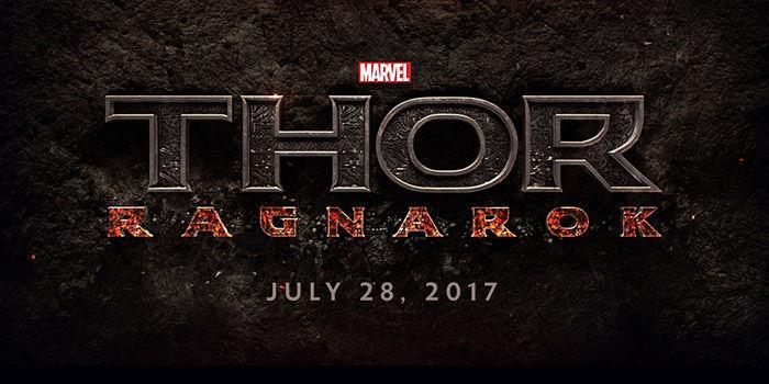 Logo Marvel ufficiale di Thor: Ragnarok