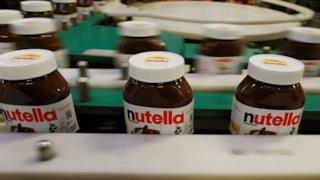 Dei barattoli di Nutella