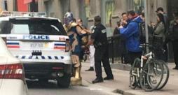 La foto di Coraci nei panni di Thanos