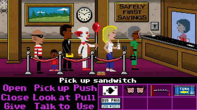 Schermata del gioco Thimbleweed Park