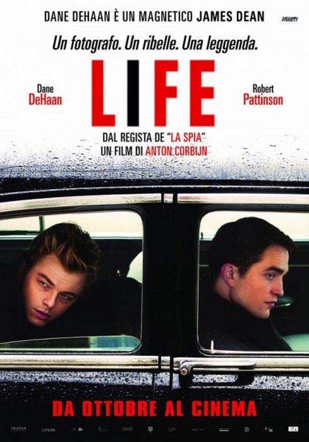 Il poster italiano di Life, sull'amicizia tra James Dean e il fotografo Dannis Stock