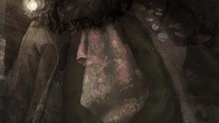 Illustrazione di Hagrid nella Pietra Filosofale