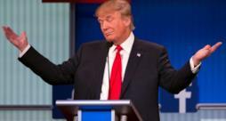 Il presidente Trump in tutto il suo splendore