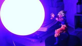 La lampada di Goku Super Saiyan