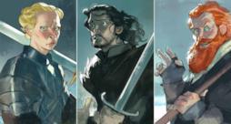 Un'illustrazione dei personaggi della serie TV