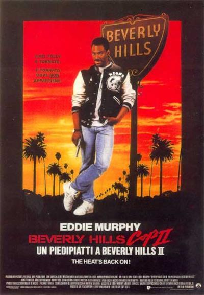La locandina di Beverly Hills Cop - Un piedipiatti a Beverly Hills