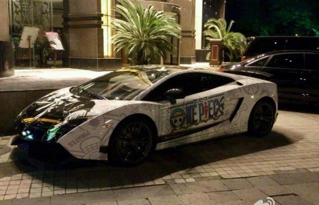 La Lamborghini ispirata a One Piece