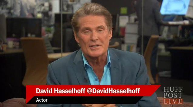 Intervista a David Hasselhoff per Sharknado 3