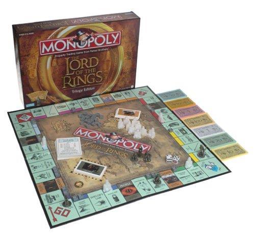 L'edizione in commercio del Monopoly del Signore degli Anelli