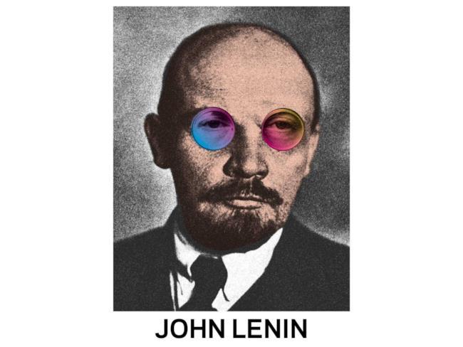 Mashup di Lenin e John Lennon
