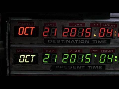21 ottobre 2015: Ritorno al Futuro Day