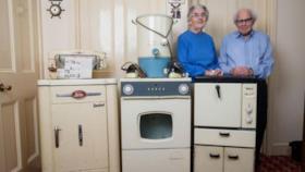 La coppia di anziani