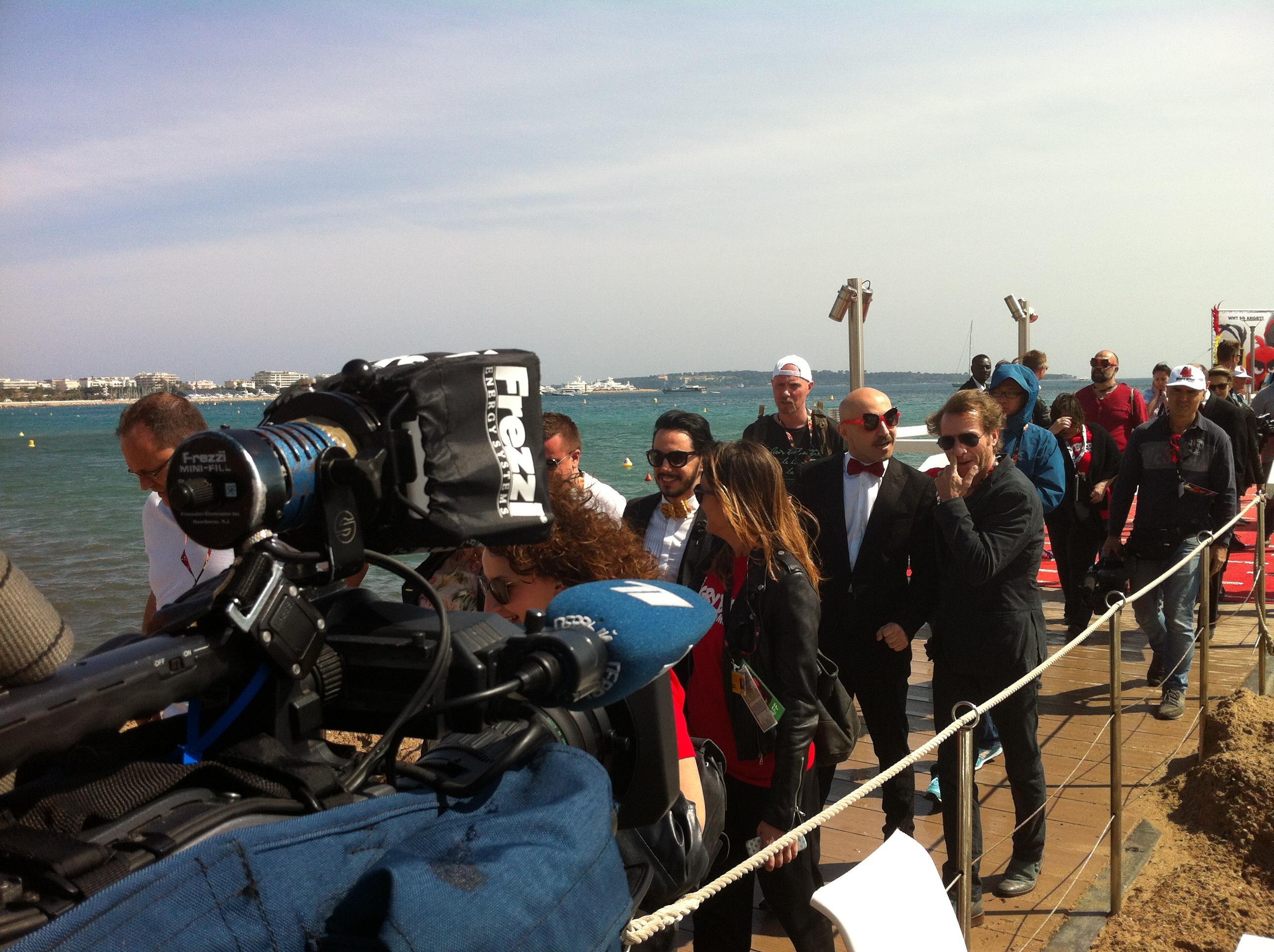 Maccio Capatonda sbarca a Cannes per promuovere Angry Birds