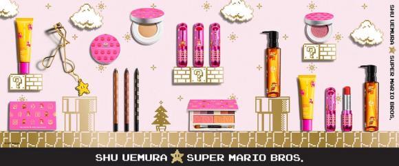 LA presentazione dei prodotti Super mario Make up