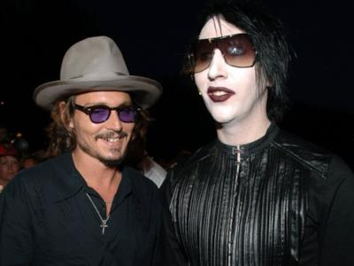 Depp e Manson insieme