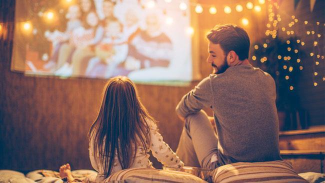 Un padre con la figlia - Immagini per la Festa del Papà