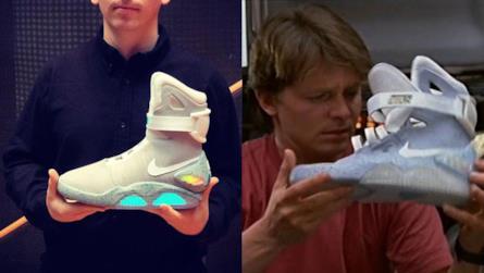 Nike le scarpe di ritorno al futuro in vendita dal 2016