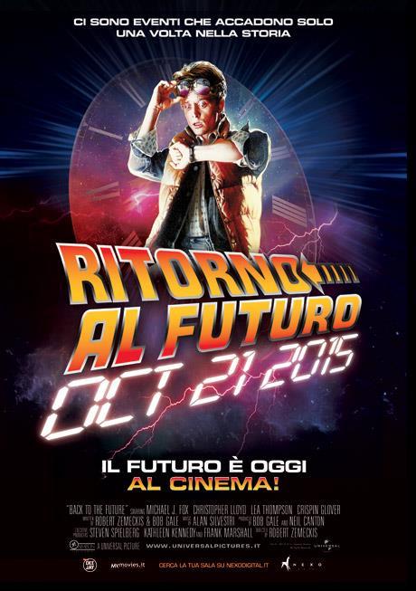Il poster italiano del Ritorno al Futuro Day