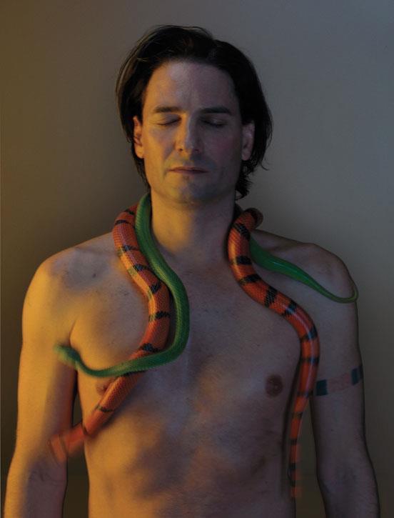 Steve Ludwin l'uomo che si inietta veleno di serpente