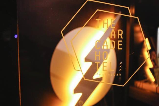 The Arcade Hotel  Logo