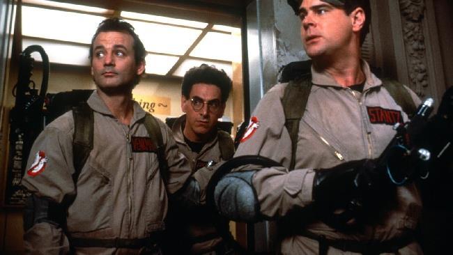 La foto del team di caccia fantasmi