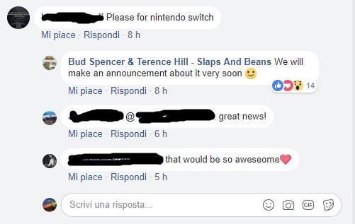 La risposta degli sviluppatori a un utente di Facebook