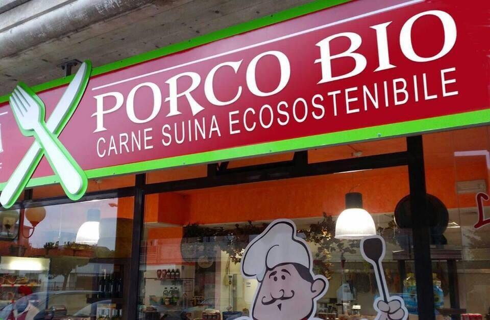 la macelleria Porco Bio