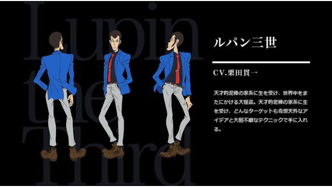 Character Design di Lupin III