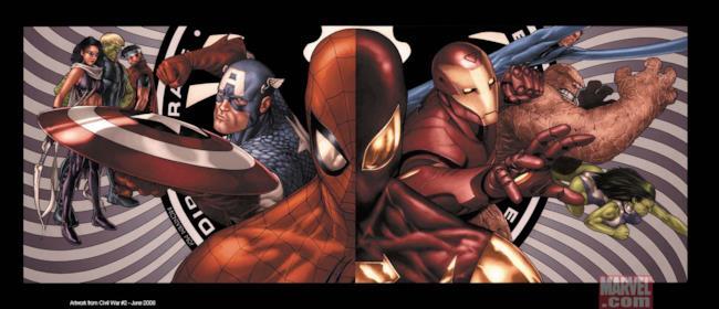Nell'universo cinematografico Marvel, Civil War sarà diversa da quella dei fumetti