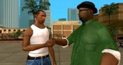 CJ, il protagonista del gioco