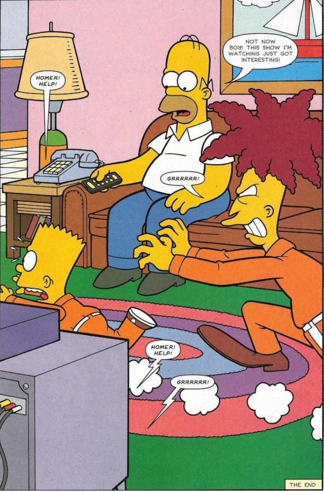 Telespalla Bob riuscirà finalmente ad uccidere Bart Simpson