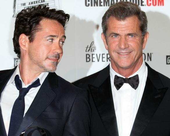 Robert Downey Jr. e Mel Gibson