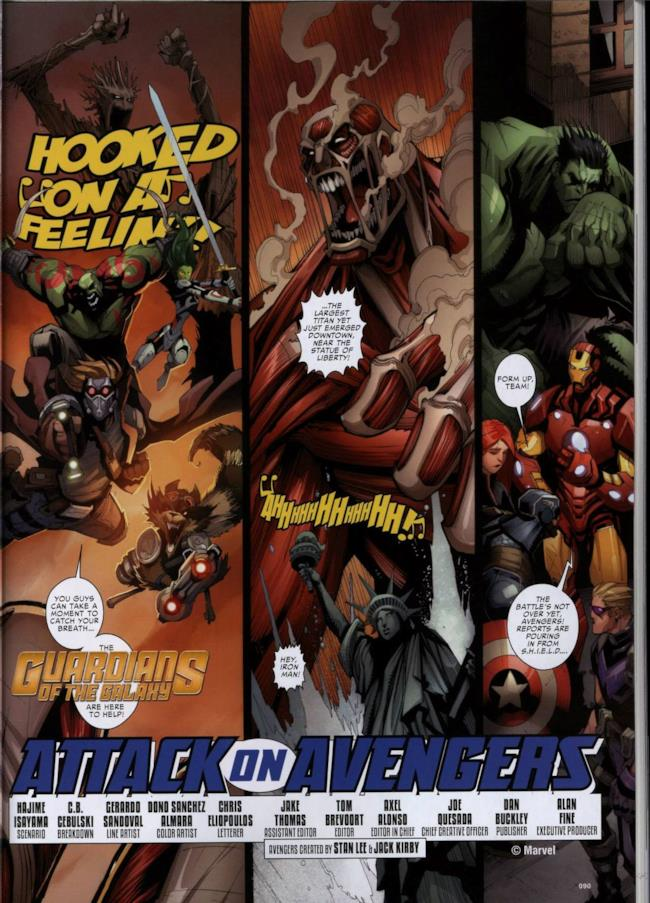 Attack on Avengers, pagina 8