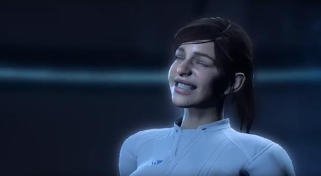 Una delle stupende animazioni di Mass Effect: Andromeda