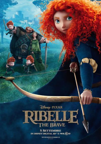 La locandina de Ribelle – The Brave
