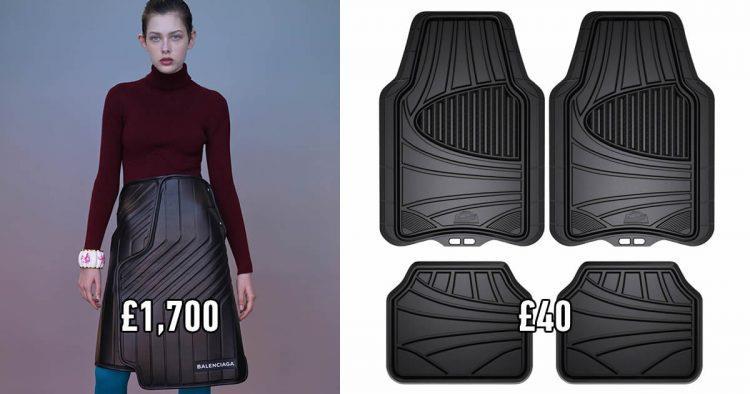 I tappeti per auto ispirano una linea di moda