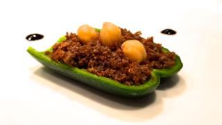 Uno dei piatti realizzati con il C-fu