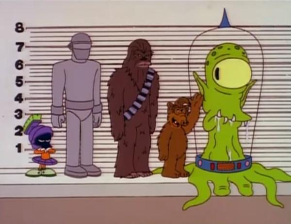 Alieni fittizi nella loro varietà