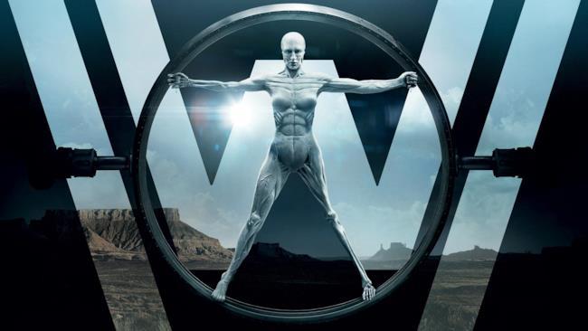 Il logo della serie TV Westworld