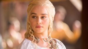 La foto di Daenerys Targaryen da Game of Thrones