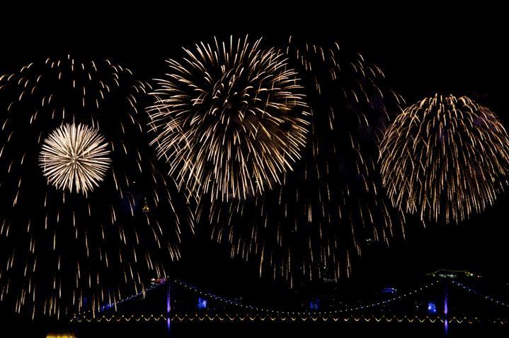 GIF di fuochi d'artificio