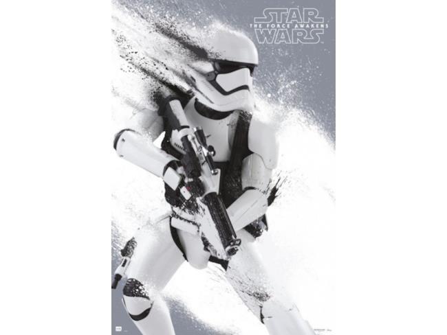 Uno degli stormtrooper di Star Wars