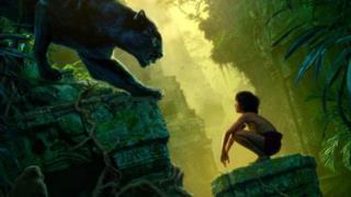 Mowgli e Bagheera nel live-action Il Libro della Giungla