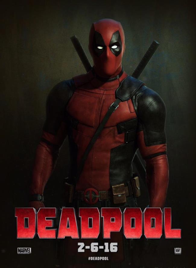 Il primo poster ufficiale di Deadpool