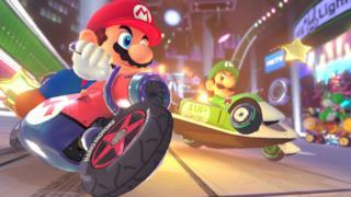 Mario e Luigi in un'immagine da Mario Kart VR