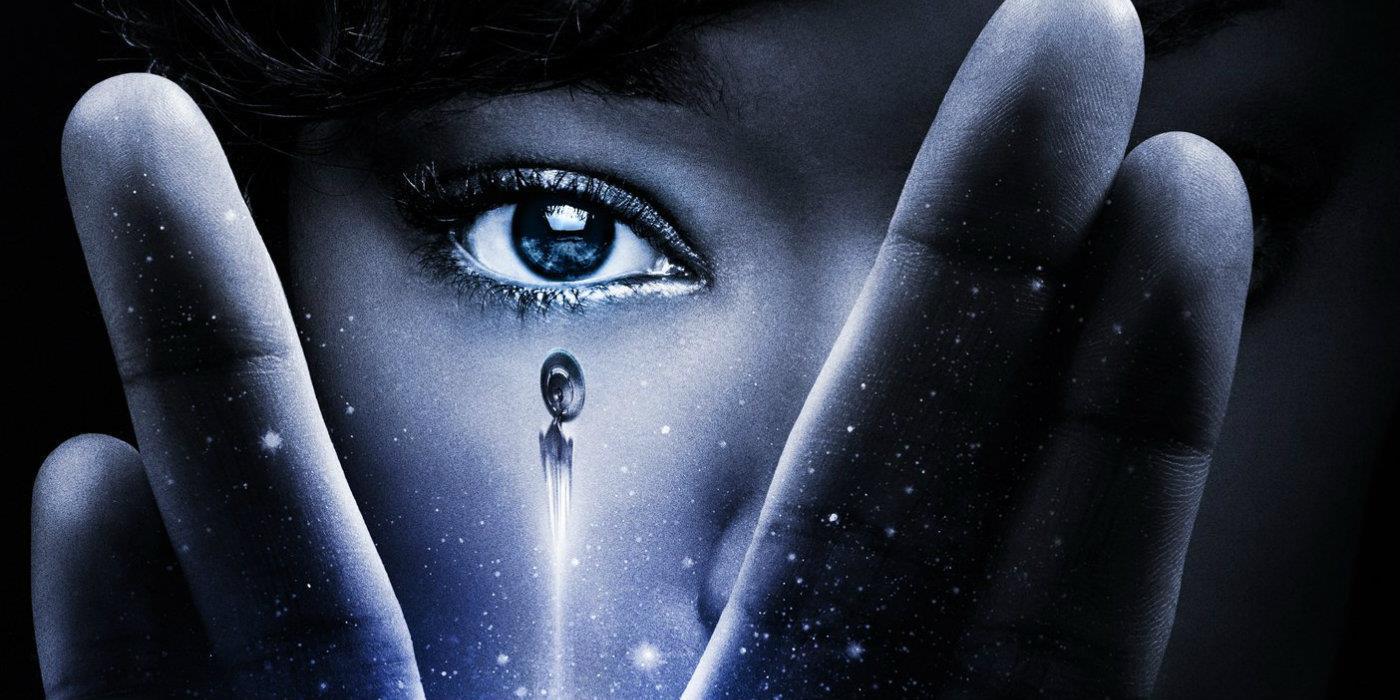 L'immagine creata per pubblicizzare Discovery, la nuova serie di Star Trek