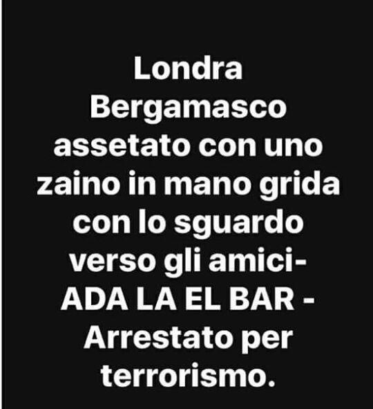 Immagini divertenti per WhatsApp - Bergamo